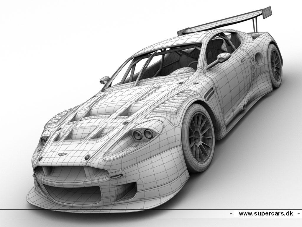 Mazda Furai Vehículos Supercars Hd Fondos De Pantalla: Racing-car-aston-martin